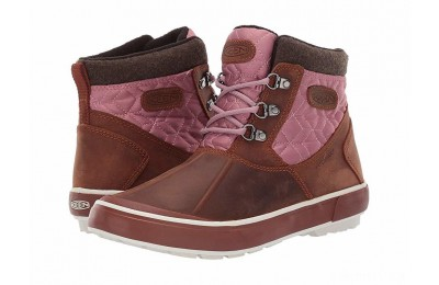 Keen Elsa II Ankle Quilted WP Tortoise Shell/Nostalgia Rose
