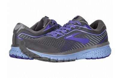 Brooks Ghost 12 Shark/Violet/Bel Air Blue - SALE
