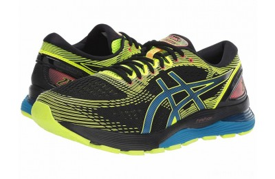ASICS GEL-Nimbus® 21 Black/Safety Yellow - SALE