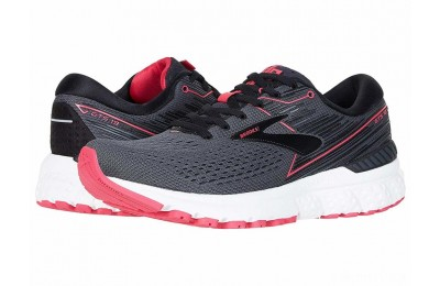 Brooks Adrenaline GTS 19 Black/Ebony/Pink - SALE