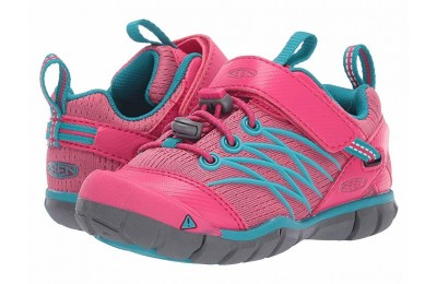 Keen Kids Chandler CNX (Toddler/Little Kid) Bright Pink/Lake Green