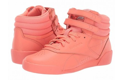Reebok Kids F/S Hi (Toddler/Youth) Pink/White/Peach - SALE