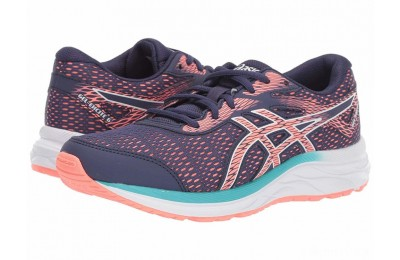 ASICS Kids Gel-Excite 6 (Little Kid/Big Kid) Purple Matte/Sun - SALE