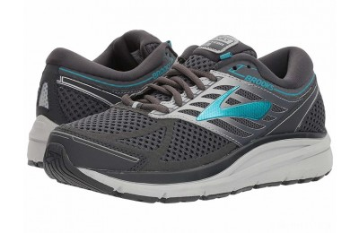 Brooks Addiction 13 Ebony/Silver/Pagoda Blue - SALE