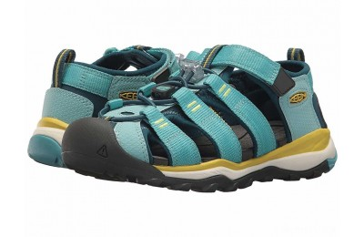 Keen Kids Newport Neo H2 (Little Kid/Big Kid) Aqua Sea/Legion Blue