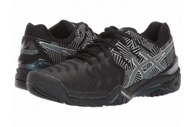 ASICS Gel-Resolution 7 Black/Silver - SALE