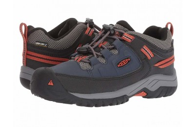 Keen Kids Targhee Low WP (Little Kid/Big Kid) Blue Nights/Roobios