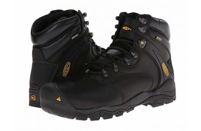 "Keen Utility Louisville 6"" Steel Toe Black"