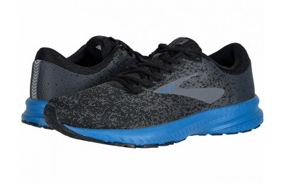 Brooks Launch 6 Black/Ebony/Deep Water - SALE