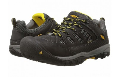 Keen Utility Tucson Low Steel Toe Black/Gargoyle