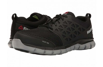 Reebok Work Sublite Cushion Work EH Black Synthetic - SALE
