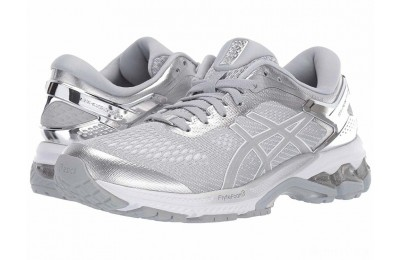 ASICS GEL-Kayano® 26 Piedmont Grey/Silver 1 - SALE