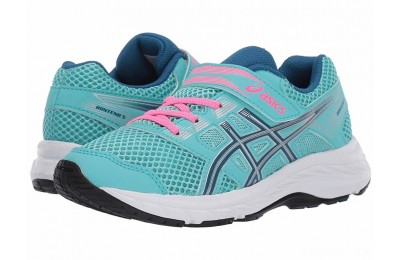 ASICS Kids Gel-Contend 5 (Toddler/Little Kid) Ice Mint/Deep Sapphire - SALE