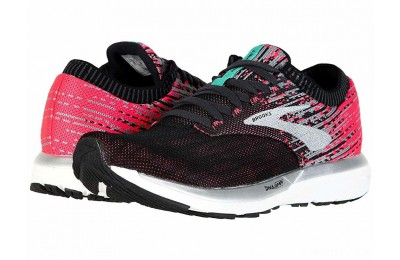 Brooks Ricochet Pink/Black/Aqua - SALE