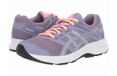 ASICS Kids Gel-Contend 5 (Big Kid) Ash Rock/Silver - SALE