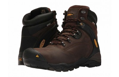 "Keen Utility Louisville 6"" Steel Toe Cascade Brown"