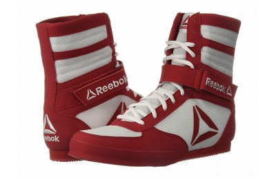 Reebok Reebok Boxing Boot - Buck White/Excellent Red - SALE