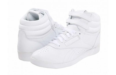 Reebok Lifestyle Freestyle Hi White/White/White - SALE
