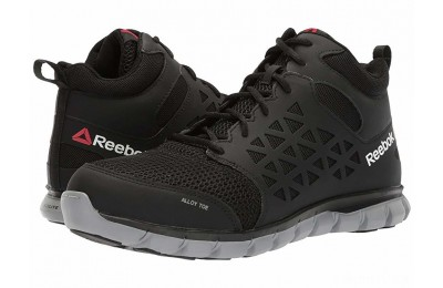 Reebok Work Sublite Cushion Work Mid SD Black - SALE