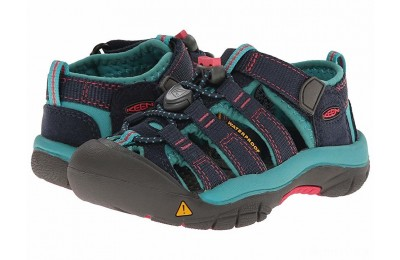 Keen Kids Newport H2 (Toddler/Little Kid) Midnight Navy/Baltic