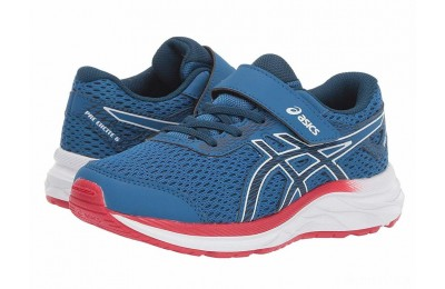 ASICS Kids Gel-Excite 6 (Toddler/Little Kid) Lake Drive/Midnight - SALE