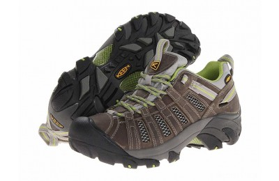 Keen Voyageur Neutral Gray/Lime Green