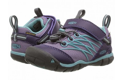 Keen Kids Chandler CNX WP (Toddler/Little Kid) Montana Grape/Aqua Haze