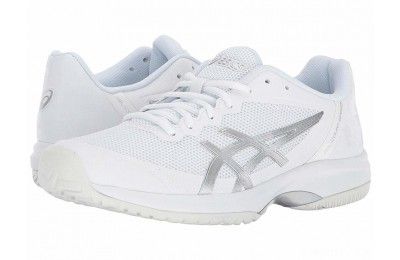 ASICS Gel-Court Speed White/Silver - SALE