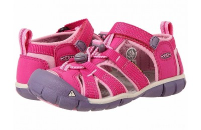 Keen Kids Seacamp II CNX (Toddler/Little Kid) Very Berry/Lilac Chiffon