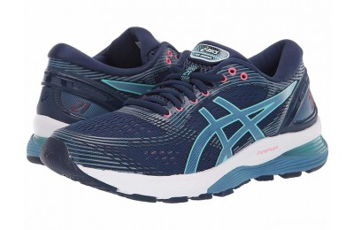 ASICS GEL-Nimbus® 21 Blue Expanse/Grey Flannel - SALE