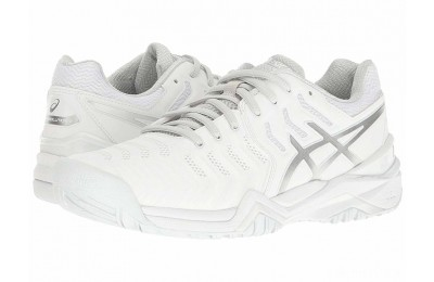 ASICS Gel-Resolution 7 White/Silver - SALE