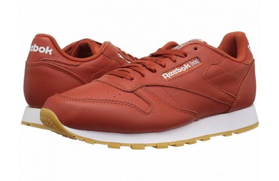 Reebok Lifestyle Classic Leather MU Burnt Amber/White/Gum - SALE