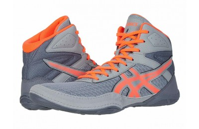 ASICS Matflex 6 Stone Grey/Flash Coral - SALE