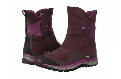 Keen Winterterra Leather WP Boot Winetasting/Tulipwood