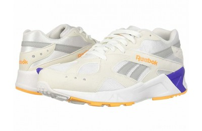 Reebok Lifestyle Aztrek White/True Grey/Solar Gold/Team Purple - SALE