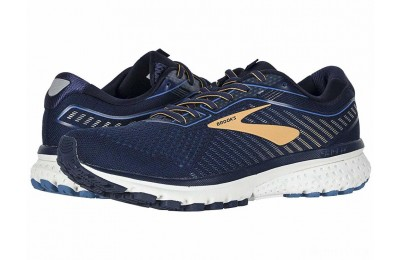 Brooks Ghost 12 Navy/Deep Water/Gold - SALE