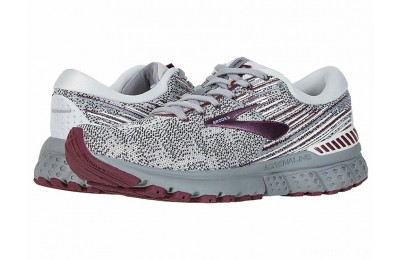 Brooks Adrenaline GTS 19 Grey/White/Fig - SALE