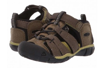 Keen Kids Seacamp II CNX (Toddler) Dark Olive/Black