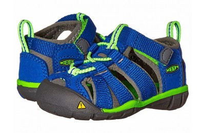 Keen Kids Seacamp II CNX (Toddler) Blue/Jasmine Green