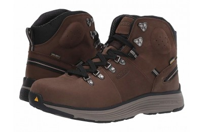 "Keen Utility Manchester 6"" Soft Toe WP Cascade Brown/Brindle"