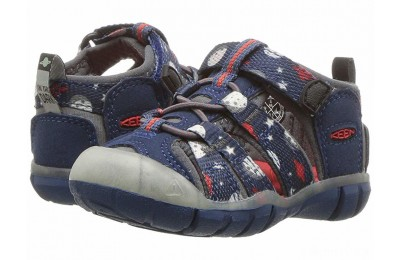 Keen Kids Seacamp II CNX (Toddler) Blue Opal Space/Glow