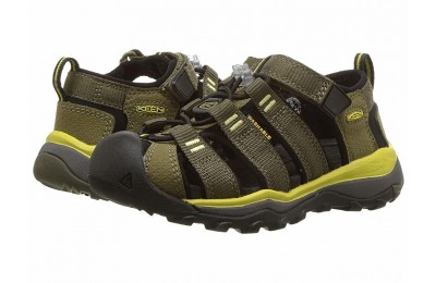 Keen Kids Newport Neo H2 (Toddler/Little Kid) Dark Olive/Celery