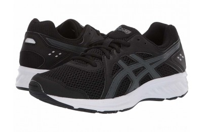 ASICS Kids Jolt 2 GS (Big Kid) Black/Steel Grey - SALE