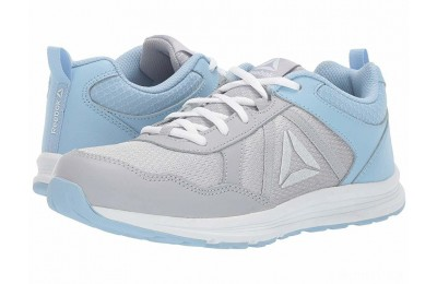 Reebok Kids Almotio 4.0 (Little Kid/Big Kid) Grey/Blue/White - SALE