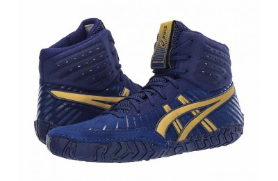 ASICS Aggressor 4 Dive Blue/Rich Gold - SALE