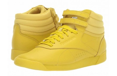 Reebok Lifestyle Freestyle Hi Icons Lemon Pepper/White/Lilac Fog - SALE