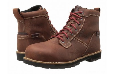 "Keen Utility Seattle 6"" AT Waterproof Gingerbread/Brick Red"