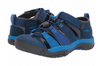 Keen Kids Newport H2 (Little Kid/Big Kid) Blue Opal/Vibrant Blue