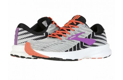 Brooks Launch 6 Grey/Black/Purple - SALE