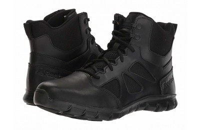 "Reebok Work Sublite Cushion Tactical 6"" Boot Black - SALE"